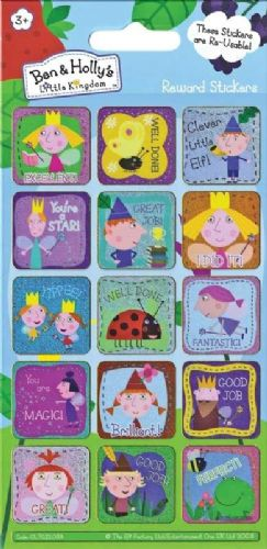 Ben And Holly's Little Kingdom Reward Stickers
